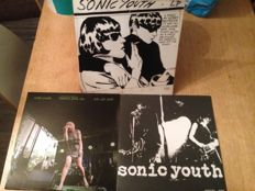 "Great Lot of 3 Lp's - Sonic Youth- "" Confusion is Sex "" / "" Goo "" / "" River to River Festival """