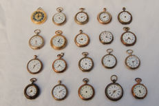 20 Antique Ladies small pocket watches