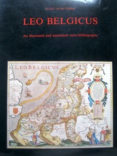 Reference work; H.A.M. van der Heijden - Leo Belgicus, An illustrated and annotated carto-bibliography - 1990