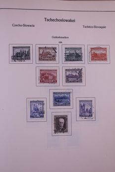 Czechoslovakia 1928/1961 - collection in old Kabe preprint album