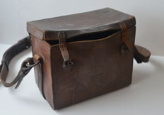 Leather bag British Army from 1916 (first world war)