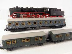 Arnold N - 2510 - steam locomotive BR41 with 3 work wagons of the DRG