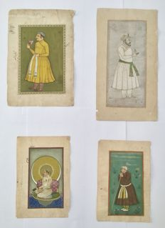 Miniature paintings - India - end 20th century