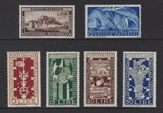 Italy 1949/1950 - Various depictions - Michel 767/770, 772 and 773