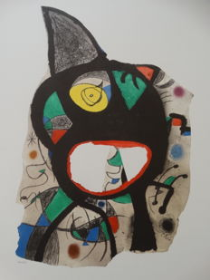 Joan Miro - Untitled drawing
