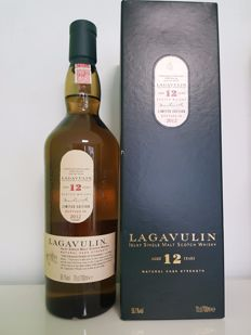 Lagavulin 12 years old Bottled 2012 Cask Strength