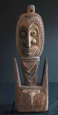 Ceremonial YATMÜL Hook from the Sepik PNG