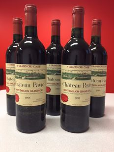 1995 Chateau Pavie, Saint-Emilion 1er Grand Cru Classé - 5 bottles