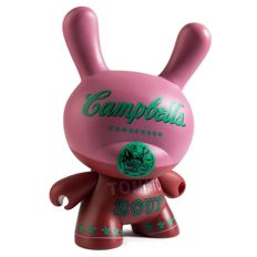 Andy Warhol (after) x Kidrobot - Campbell's TOMATO soup Dunny