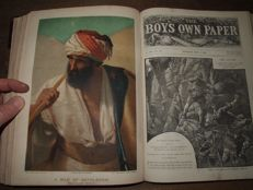Annuals; The Boys Own Paper - Volume IX - 52 issues - 1888/1889