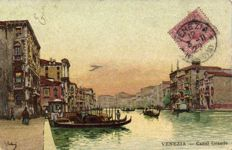 Lithographs VENEZIA 59 x-various series of famous places in Venice-period:1900/1920