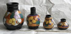 ESKAF - Lot with four nice vases