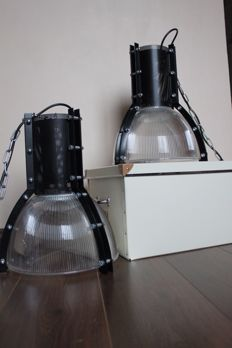 Unknown desinger - two industrial lamps