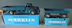 Märklin - Scale 1/43 - Truck and trailer Nos.8009 and 8012