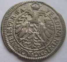 Germany, City of Nurenberg - XV Kreuzer 1622 Ferdinand II Kipper