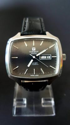 "Tissot Day Date ""Seven"" Men's Watch - 1970s"