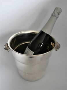 Art Deco silver-plated champagne cooler