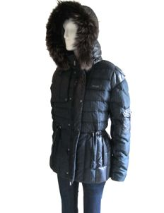 Cavalli - Padded Down Jacket - Real Fox Fur - ***NO RESERVE***