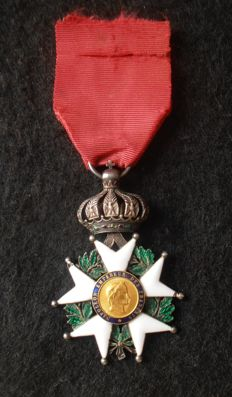 Time 2nd Empire - Knight's cross of the order of the Legion of honour in gold and silver
