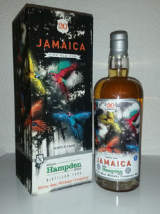 Rum Silver Seal Hampden Jamaica 1993-2013 Luxury Box 20 Years - 50% Vol.