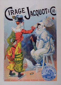 Lucien Lefevre - Cirage Jacquot - Original lithograph poster from the 'Les Maitres de L'affiche' series