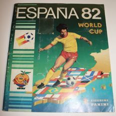 Panini - World Cup España 82 - Complete album - Version with Belgian back