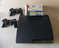 Sony PlayStation slim 3 - 120GB including 7 games and PlayStation Move + PlayStation Eye