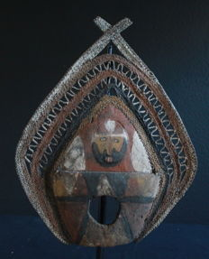 'Waken' Ornamental Headpiece of the ABELAM from PNG