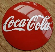 Enamel - Coca Cola - USA - Early 1990s - Vintage