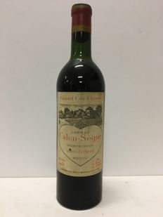 1955 Chateau Calon Segur, Saint-Estephe Grand Cru Classe  - 1 Bottle