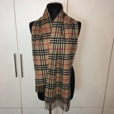 Burberry – 100% Cashmere Scarf - Perfect condition!