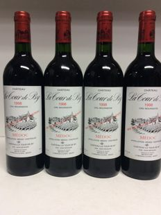 1998 Chateau La Tour de By, Cru Bourgeois Medoc, France - 4 bottles 0,75l