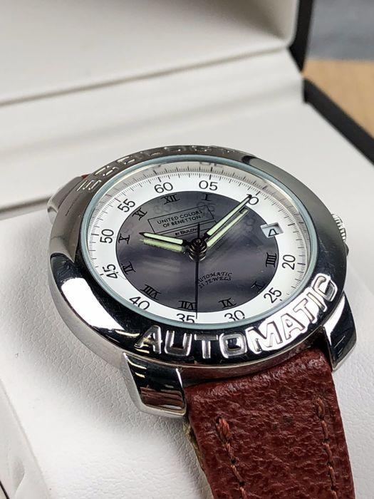 Benetton by bulova ecologic automatic ref bn597 men 39 s watch catawiki for Benetton watches