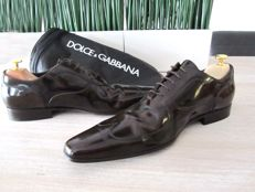 Dolce & Gabbana  - Leather Derby shoes Napoli