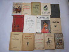 Lot of 13 volumes on the Napoleonic period - 1855 / 1957