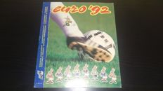 Panini - Euro 92 in Sweden - Original empty album 1992.