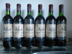 1968 Chateau Beychevelle, Saint-Julien Grand Cru Classé - 6 bottles