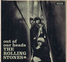 Rolling Stones Out of Our Heads (Decca LK 4733) United Kingdom | original first pressing | unboxed Mono | september 1965
