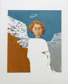 Karolina Gmiterek - Angel and the Goose
