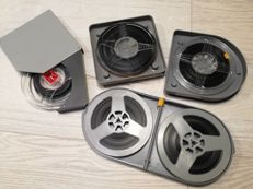 Lot consisting of 5 Super8 and 8mm films