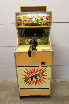 SEGASA Guerilla Fighter Electro Mechanical Shooting Cabinet