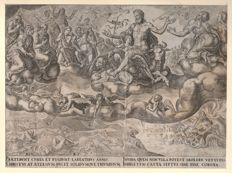 Maerten Van Heemskerck (1498-1574) -The triumphs of Petrarch / The triumph of Christ or Eternity - by Philips Galle (1537-1612) - Ca. 1565