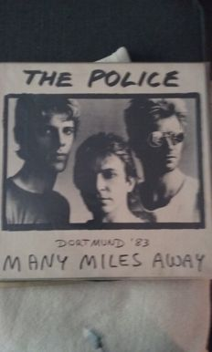 The Police ‎– Many Miles Away LP (Clear Vinyl)