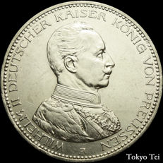 Germany Prussia - 5 mark 1914 Wilhelm II - silver