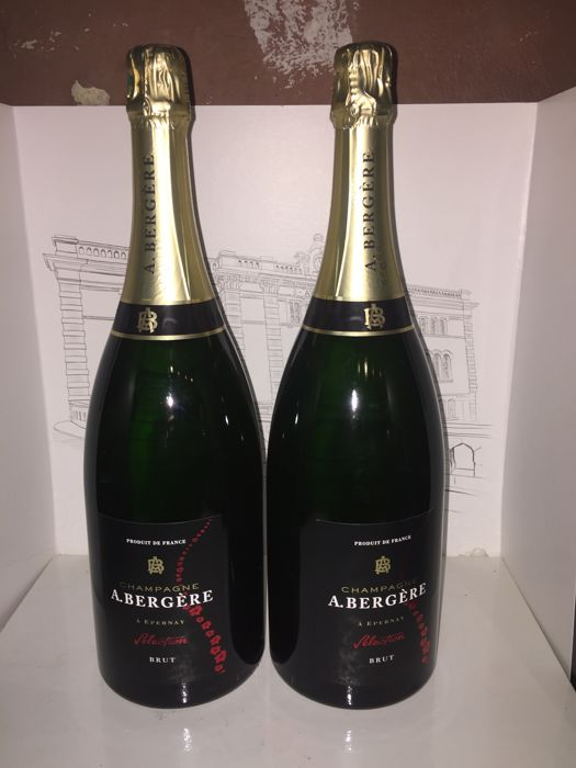 A. Bergere Brut Selection Champagne - 2 magnums (150cl)