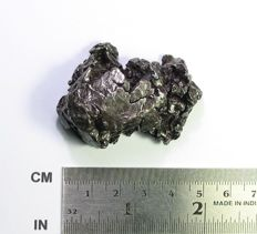 Campo del Cielo Iron Meteorite, with moveable section - Octahedrite IVA - 52.4 x 36.2 x 22.6 mm - 114.05 g