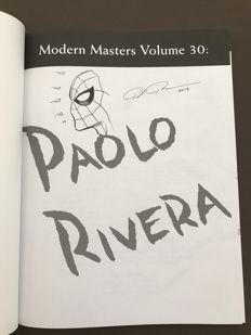 Modern Masters #30: Paolo Rivera - B - TwoMorrows Publishing - Includes Signed Spider-man Sketch by Paolo Rivera
