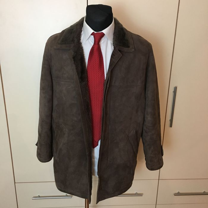 Genuine Suede Sheepskin – Jacket / Coat - ***No Reserve***