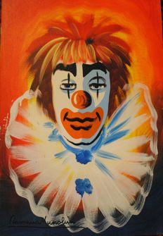 Romano Mussolini - Clown