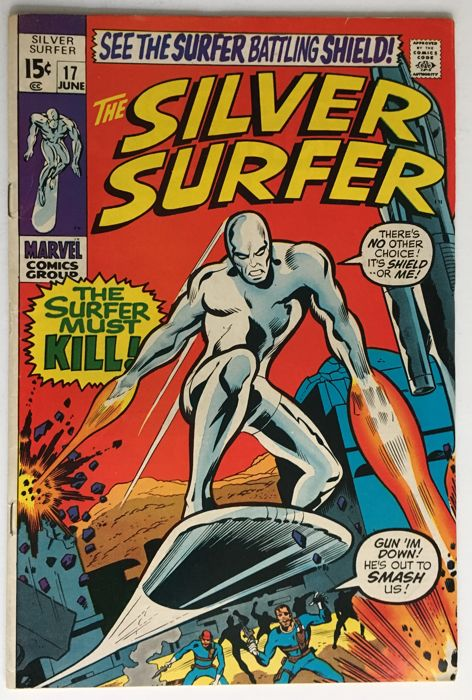 Marvel Comics - The Silver Surfer #17 - 1x sc - (1969)